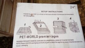 Puppy or Small Pet Cage