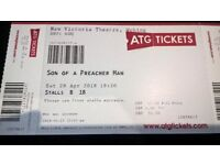 2 Tickets to see 'Son of a Preacher Man' - musical at Woking THIS Saturday