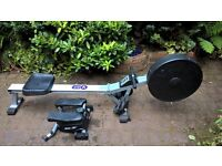 Rowing machine and stepper
