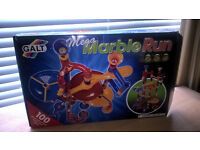 Galt Mega Marble Run - 100 Pieces. Like new.