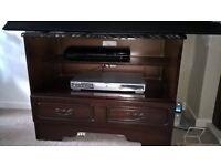 T.V/ DVD/ VCR Cabinet