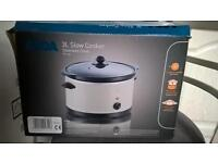 Slow Cooker, brand new, still in box - £12