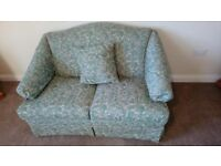 PARKER KNOLL 3 PCE SUITE, green, good quality exc condition