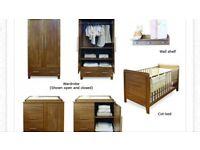 Kiddystyle Calgary Oak Furniture Set