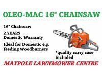 """Oleo Mac Chainsaw 16"""""""