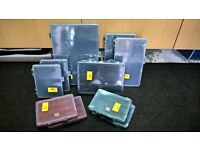 BRAND NEW 10x Various Sized RS Components Storage Containers