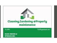 Tl .cliff,s Gardening ,Cleaning and Property Maintenance, Always on call to give a helping hand .