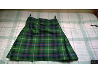 Kilt, Sporran, Belt (with Buckle) and Flashes
