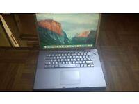 Macbook Pro 15 2.4ghz core 2 duo with Adobe CS6 / Final Cut / Logic Pro / Ableton / MS Office