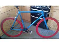 """Mango fixie flip/flop rear wheel 23""""frame needs inner tube"""