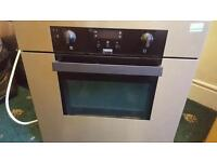 Electric oven and extractor fan