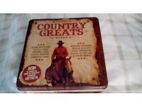 COUNTRY COLLECTION CD's