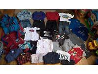Designer boy bundle clothes 18-24 months: Ralph Lauren, Ted Baker,Tommy Hilfinger, Diesel, Lacosta:)