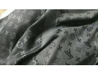 Lv two toned grey scarf brand new
