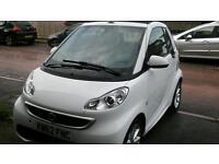 Smart car convertible passion cdi auto 2013 62 reg.43000 miles