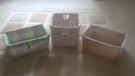 * * * 3 small Baskets * * *