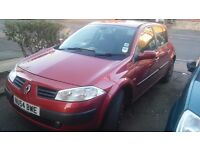 Renault megane expression 16v nice drive new mot had new clutch alternater and cat .