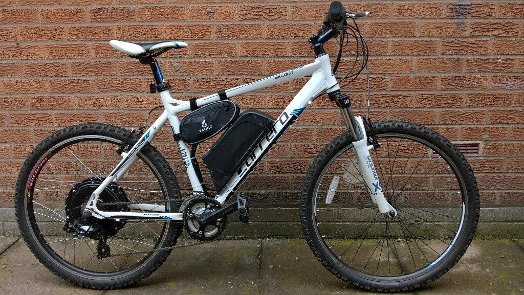 Carrera Valour 1000 watt electric bike
