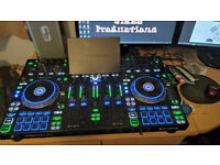 FULLY LOADED Denon Dj Prime 4 boxed with manuals leads etc 1TB HDD