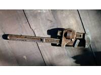 "Record 14"" pipe wrench"