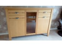 Sideboard and side table