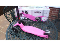 Maxi Micro Scooter Pink