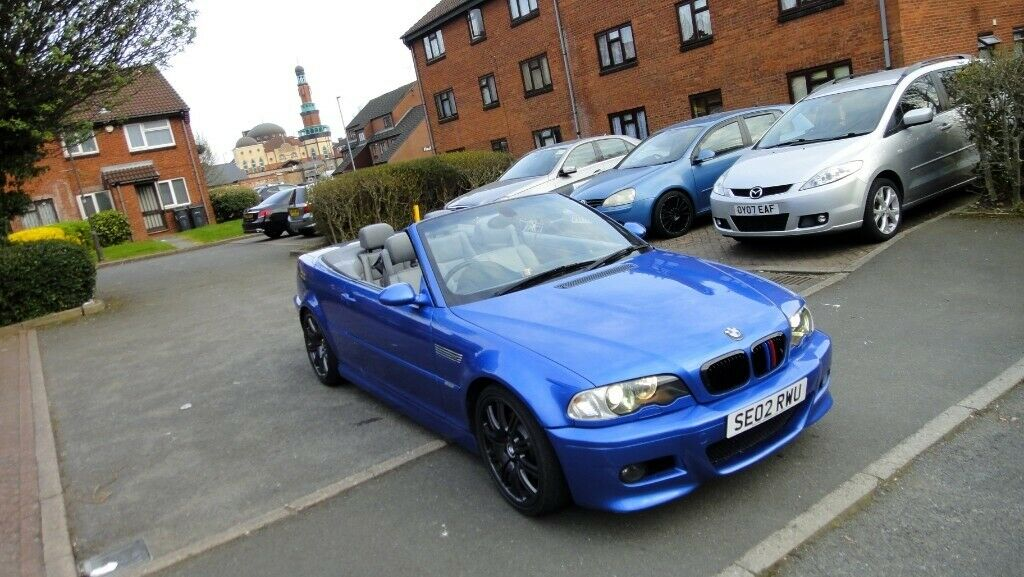 Bmw M3 Convertible Individual Estoril Blue Smg 2 In Hall Green West Midlands Gumtree