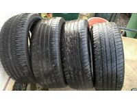 4x 245/50/20 Tyres,2x Goodyear Eagle RS.A,2x MaxTrek,5-6mm