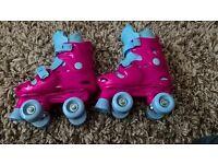 girls retro roller skates size junior 13 - 2