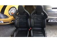 AUDI A3 S3 RS3 RS4 RS6 HEATED BUCKET SEATS