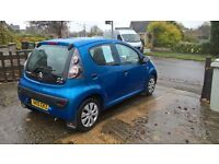 Citroen C1 Splash This is a lovely little car electra blue 5 door hatch ,low insurance and tax.