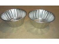 2 Aluminium moulds