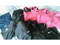 Ladies bundle of quality Gym wear size 12 including Nike and Puma in very good condition
