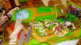Farm set elc with carry bag