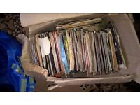 "Mixed Box of approx 145 Vinyl 7"" Singles"