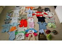 37 items BOYS 0-24 months joblot