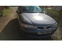2002 Vauxhall Vectra MOT 20.9.17 drives well £275 for quick sale