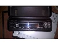 Kenwood KDC3090RA Car Stereo CD Player with detachable front facia and storage case