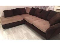 Corner sofa from sofa works with the upgraded foam seats in great conditions!!!