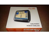 Mio M300 Navman Sat Nav With Protective Case