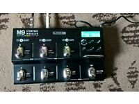 Line 6 M9 Multi Effect Stomp as new boxed