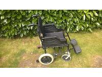 Light weight aluminum wheelchair