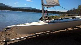 Laser 1 Sailing Dinghy