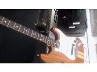 Custom Strat electric guitar