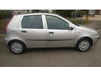 fiat punto automatic very low miles