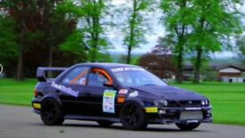 TRACK CAR, Subaru WRX, Wide arch, DCCD, Modified