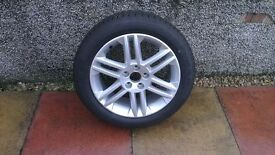 BRAND NEW VECTRA C SRI ALLOY WHEEL AND TYRE