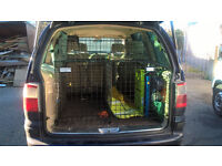 """Bespoke """"Dog pod"""" double dog crate for Ford Galaxy (2001)"""