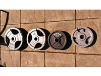 100kg Olympic cast iron grip weights plates