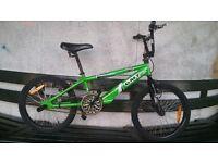 bmx bike in very good condition (unused)
